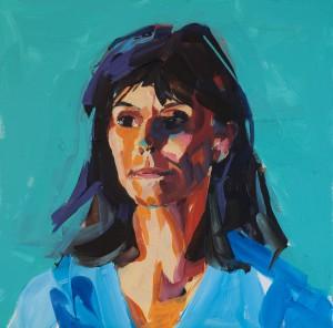 Daniela live portrait session