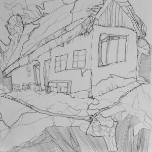 Zeichnung oT28