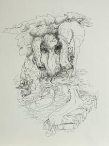 Zeichnung oT3