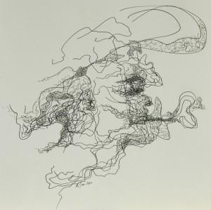 Zeichnung oT9