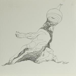 Zeichnung oT13