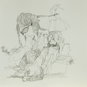 Zeichnung oT25